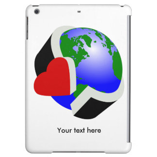 Care for earth iPad air cover