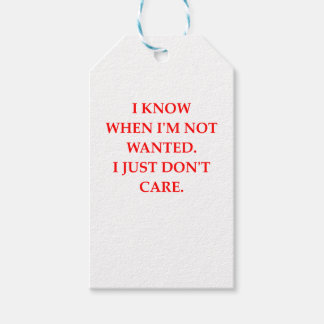 CARE GIFT TAGS