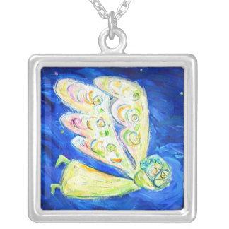 Care of the Soul Angel Art Custom Pendant Necklace