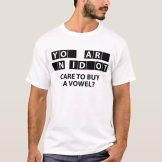 Care To Buy A Vowel? T-Shirt