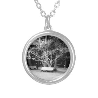 Care to Join Me? Silver Plated Necklace