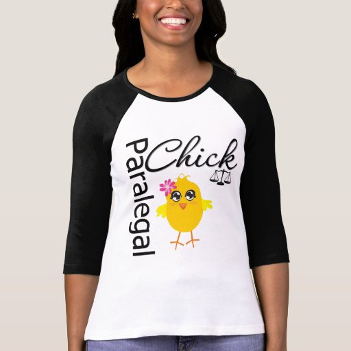 Career Chick Paralegal T-shirts
