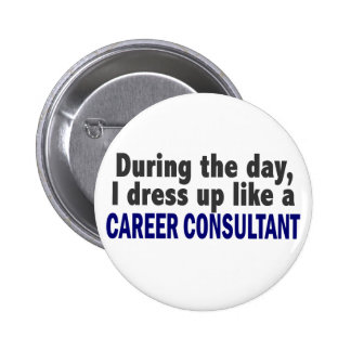 Career Consultant During The Day Pins