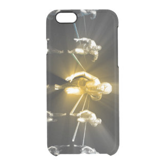 Career Development with a Business Team Clear iPhone 6/6S Case