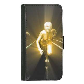Career Development with a Business Team Samsung Galaxy S5 Wallet Case