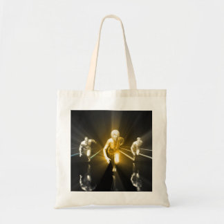 Career Development with a Business Team Tote Bag