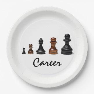 Career Path Paper Plate