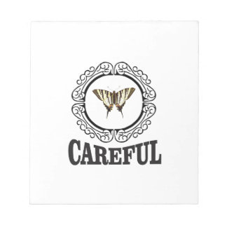 careful circle notepad