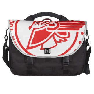 Careful what you say I'm a spartan Commuter Bags