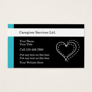 Caregiver business cards business card printing zazzle ca caregiver business cards colourmoves