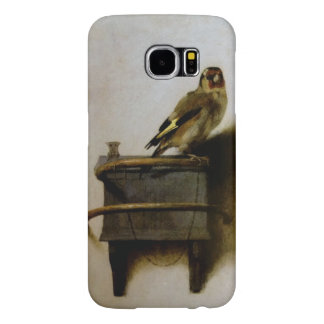 Carel Fabritius The Goldfinch Vintage Fine Art Samsung Galaxy S6 Cases