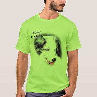 CARES - Kev - aussie T-Shirt