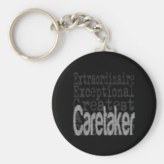 Caretaker Extraordinaire Keychain