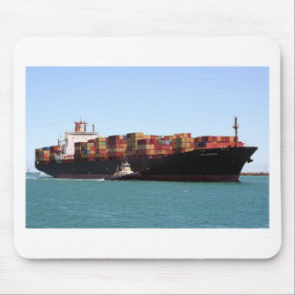 Cargo ship 1, Port Adelaide, South Australia Mouse Pad