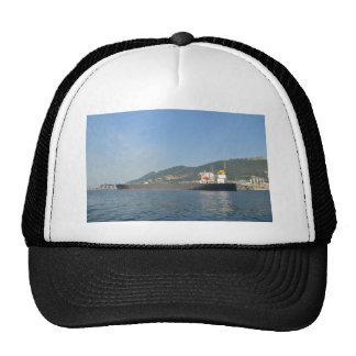 Cargo Ship Entering Gibraltar Trucker Hat