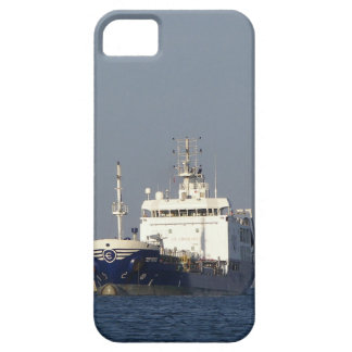 Cargo Ship Zephyros Entering Harbor iPhone 5 Cases