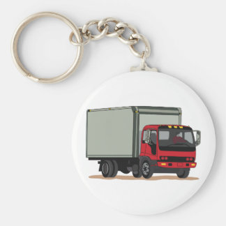 Cargo Truck Keychain