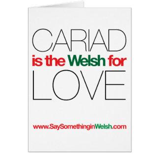 CARIAD CARD