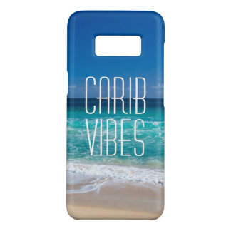Carib Vibes Tropical Beach Turquoise Water Case-Mate Samsung Galaxy S8 Case