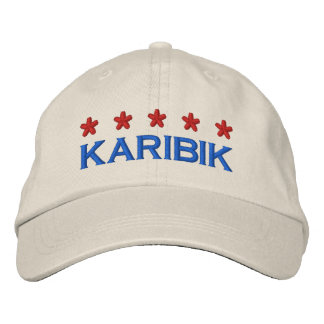 CARIBBEAN - 001 EMBROIDERED HAT