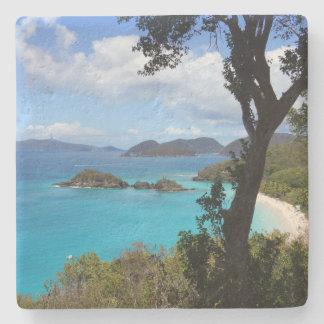 Caribbean Bay Stone Coaster