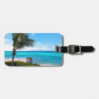 Caribbean Beach Luggage Tag