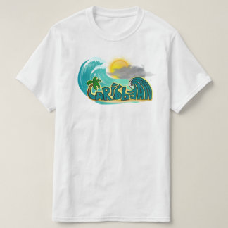 Caribbean Beach Mode T-Shirt