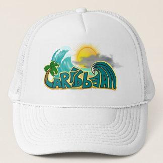 Caribbean Beach Mode Trucker Hat