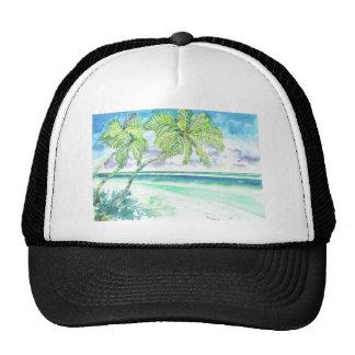 Caribbean Beach Trucker Hat