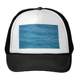 Caribbean Blue Water Trucker Hats