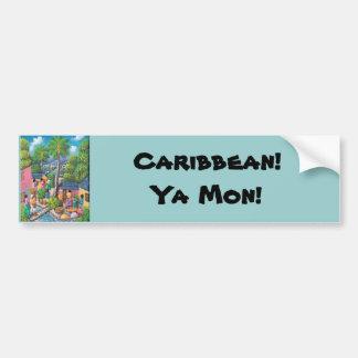 Caribbean! Car Bumper Sticker