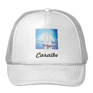 Caribbean cap trucker hat