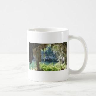 caribbean cave classic white coffee mug