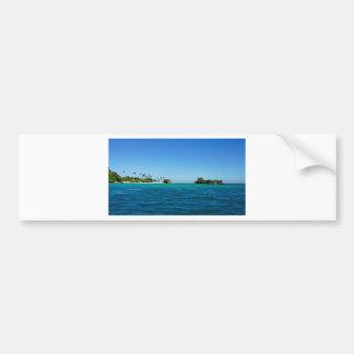 caribbean coast car bumper sticker