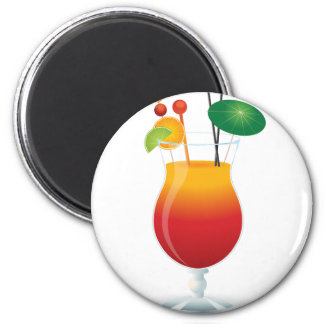 Caribbean Cocktail Magnet