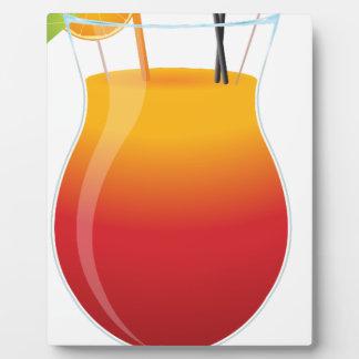 Caribbean Cocktail Plaque