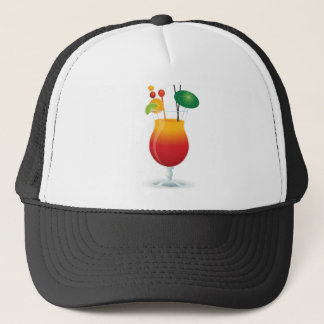 Caribbean Cocktail Trucker Hat