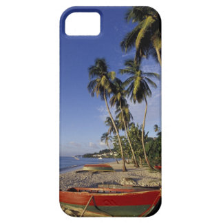 CARIBBEAN, Grenada, St. George, Boats on palm Case For The iPhone 5