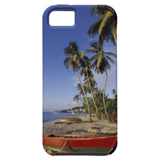 CARIBBEAN, Grenada, St. George, Boats on palm iPhone 5 Cover