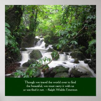 Caribbean Island Inspirational Poster