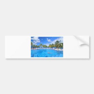 Caribbean islands bumper sticker