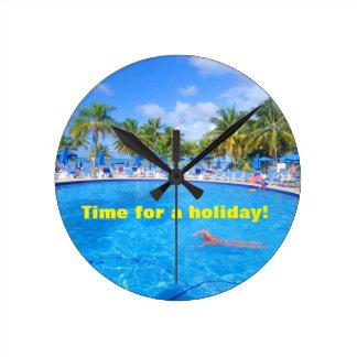 Caribbean islands clocks