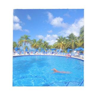 Caribbean islands notepads