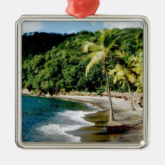 Caribbean, Lesser Antilles, West Indies, Saint Metal Ornament