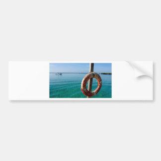 caribbean lifesafer bumper sticker