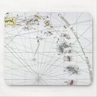 CARIBBEAN: MAP, 1775 MOUSE PAD