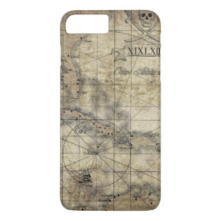 Caribbean - old map iPhone 7 plus case