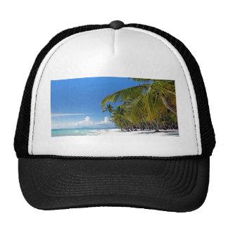 caribbean paradise trucker hat