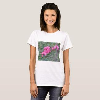 Caribbean pink flower spray T-Shirt