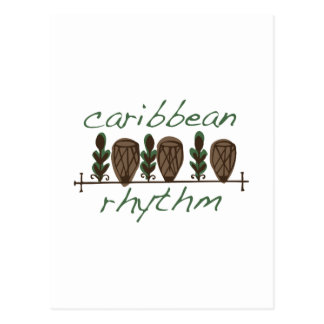 Caribbean Rhythm Postcard